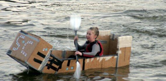 Cardboard Kayak-King Event 2014