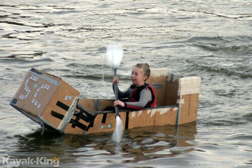Cardboard Kayak-King Event 2014