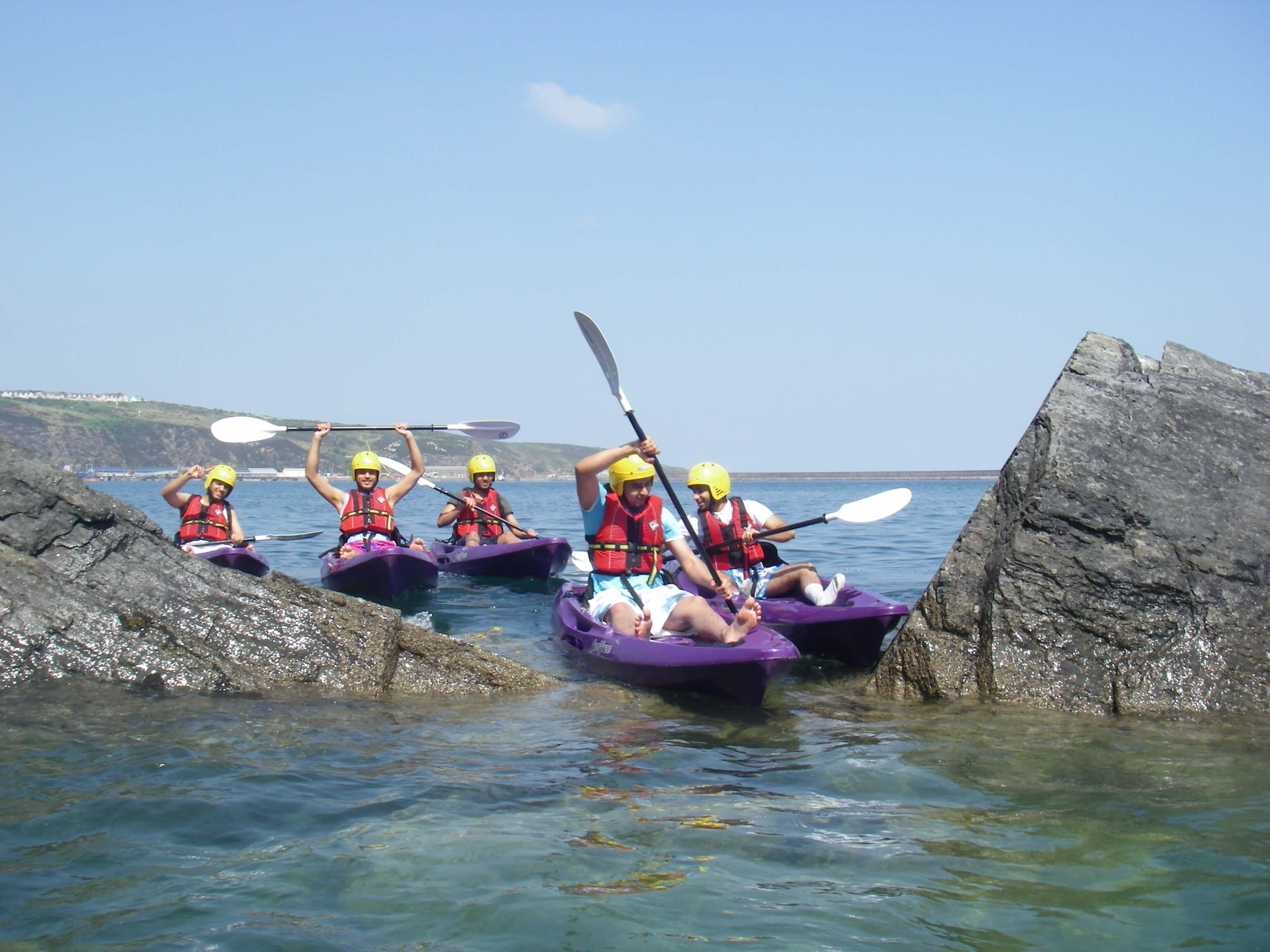 Adult group Kayaking