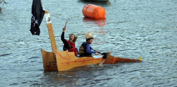 Cardboard Kayaking Event 2015