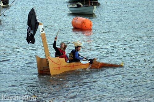 Cardboard Kayaking Event 2015