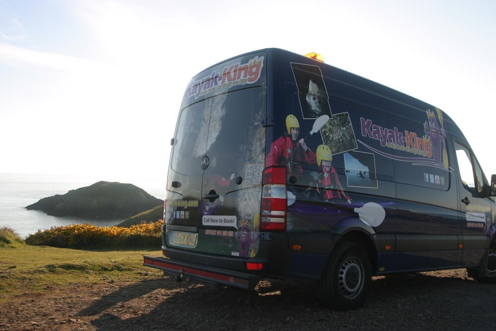 About us -Van-at-strumble-head