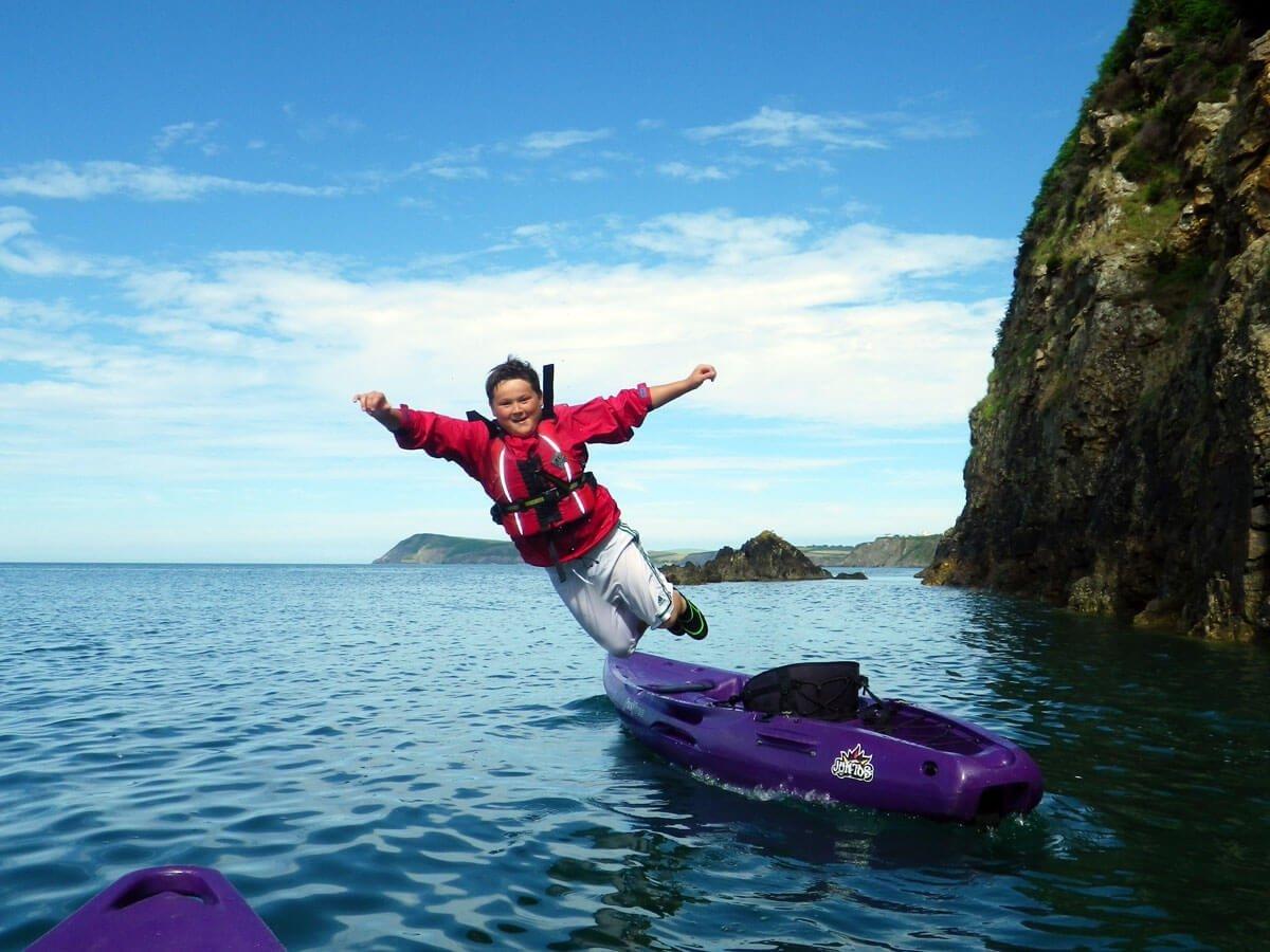 Kayak-jump