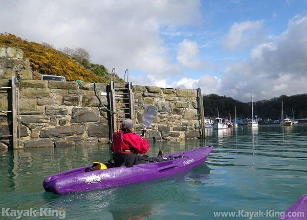 fishguard harbour kayaking