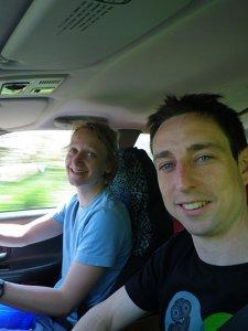 Travelling to skomer