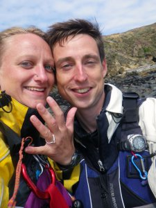 Skomer island wedding proposal