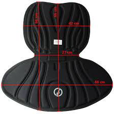 deluxe kayak seat dimensions