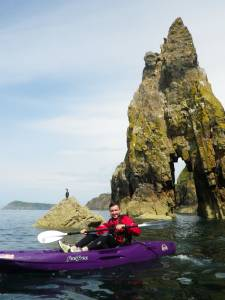Sit on top kayak safety course